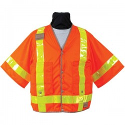 Mesh Safety Utility Vest (8374-Series)