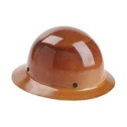 MSA Skullgard Carbon Fiber Full Brim Hard Hat