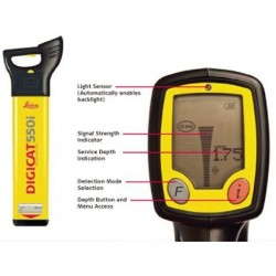 DigiCat 550i Utility Service Locator (60hz) w/ Depth Indicator