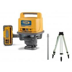 LL500 Laser w/ HL700 Receiver, GR151 Rod (tenths), and tripod
