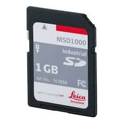MSD1000, SD Memory Card 1GB for CS and GS units