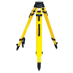 SiteMax Fiberglass Heavy Duty Tripod, with Quick Clamp, Black