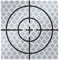 60mm Reflective Retro Target, Stick-ons (Includes 10 targets)