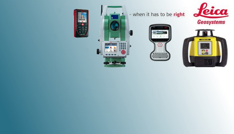 Total Stations - GPS - GIS - Lasers -  Accessories