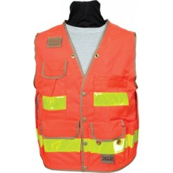 Heavy-Duty Safety Utility Vest