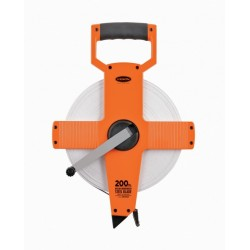 Keson 165' NR Series Steel Long Measuring Tape w/Hook End (Inches)