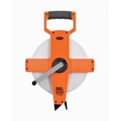 Keson 200' NR Series Steel Long Measuring Tape w/Hook End (Inches)