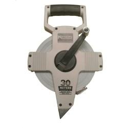 Keson 30m NR Series Metric Steel Long Measuring Tape w/Hook End