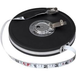 100ft Fiberglass Tape (ft./inch./tenths)