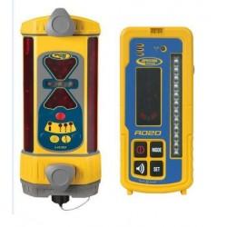 LR30 Laser Receiver w/ Unv. Charger, Radio & Remote Display
