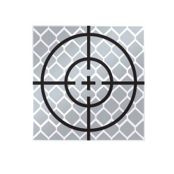 30mm Reflective Retro Target, Stick-ons (Includes 10 targets)