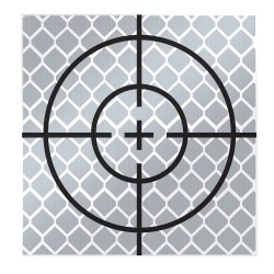 50mm Reflective Retro Target, Stick-ons (Includes 10 targets)