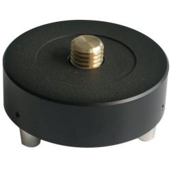 Fixed Tribrach Adapter. 5/8-11 Female thread