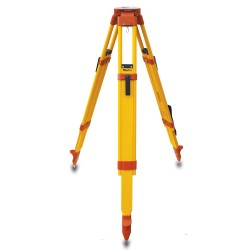 Wood/Fiberglass Heavy Duty Tripod,Orange